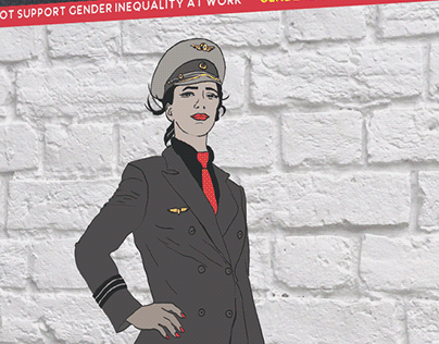 Social Design Campaign: Gender inequality in workspace