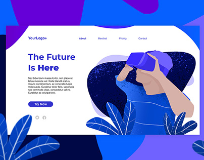 Virtual Reality Web Header