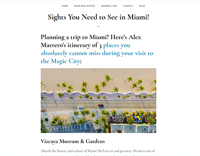 Sights You Need to See in Miami!