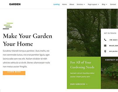 Gardener Wordpress Themes