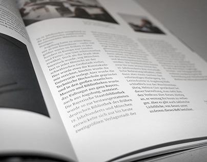 Magazin Typotopografie