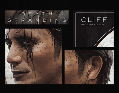 Death Stranding Cliff Animated poster