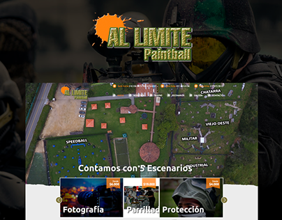Al Limite Paintball www.allimite.com.co