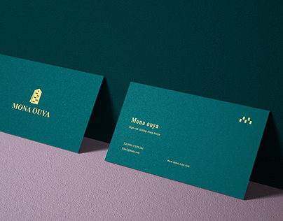 Mona Ouya High-end clothing brand design