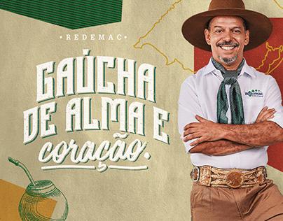 GAÚCHA DE CORAÇÃO // REDEMAC
