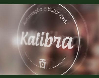 Criação de identidade visual - Kalibra