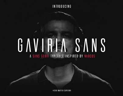Gaviria Sans Font // Sans Serif Typeface