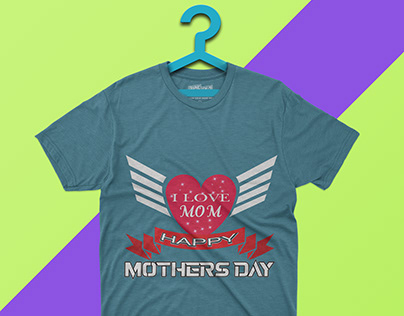 There are mothers T-shirt Design