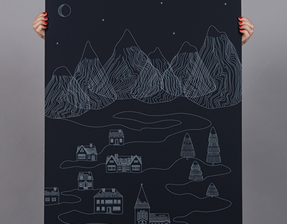ANTALIS graphic winter poster