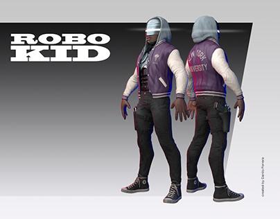 RoboKid - Game Ready 3D Model
