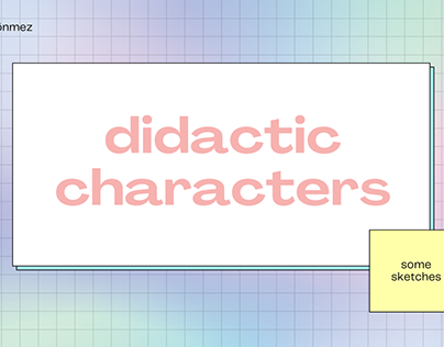 Didactic Characters
