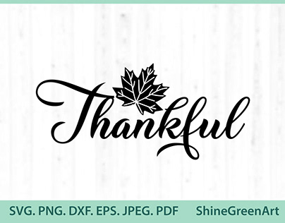 Thankful Oak Leaf