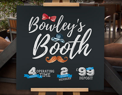 Bowley's Booth Branding