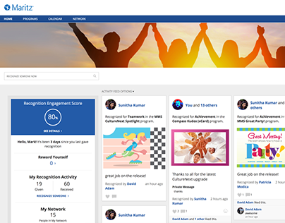 Employee Engagement Product Redesign