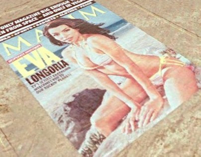 Worlds Largest Maxim Cover in Las Vegas