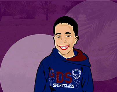 Vector art : My brother :)
