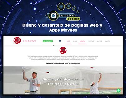 Diseño y Desarrollo de Pagina web | Ajamba
