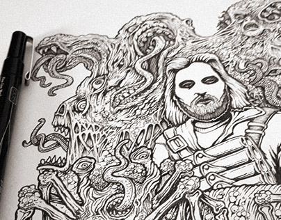 The Thing - Illustration
