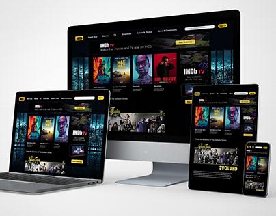 Interface Redesign - IMDb