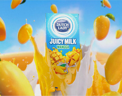 Dutch Lady Juicy Milk | Mango-Go Gold