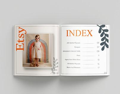 Etsy Catalogue / Brochure