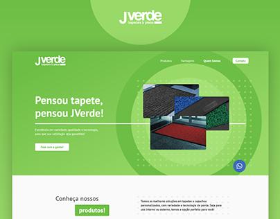 JVerde - Landing Page