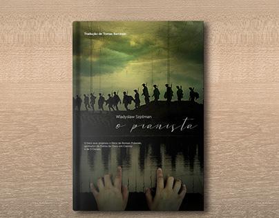 Reimaginação capa O Pianista (Coverbook)