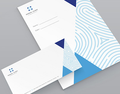 Brand identity - Kushal Clinic