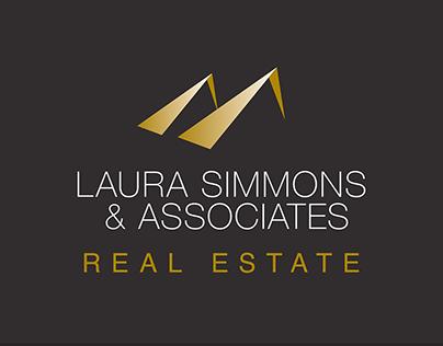 Laura Simmons & Associates Real Estate Logo Design