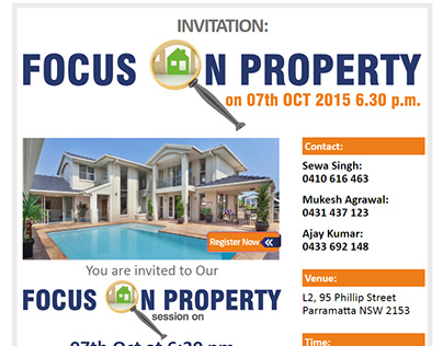 Focus in Property E-mailer