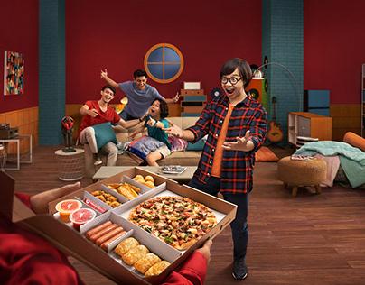Rayakan Pizza dari PHD