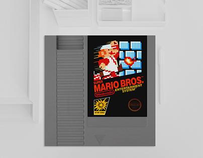 Invitación de boda - Mario Bros