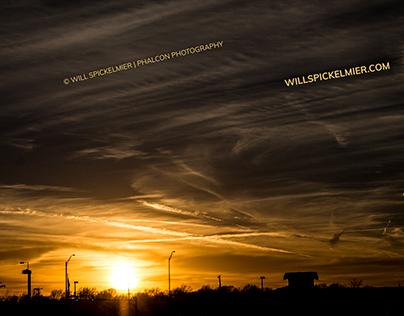 Sunset Lincoln, NE Feb 16, 2017