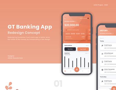 GT Bank App Redesign