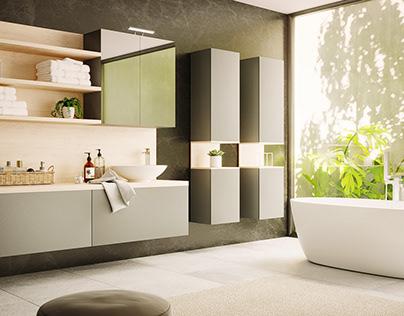 Bathroom Corona 4D