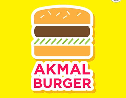 Logo Design : Akmal Burger
