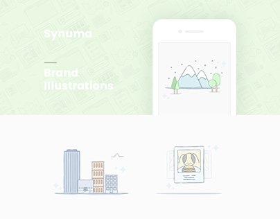 Synuma Brand Illustration