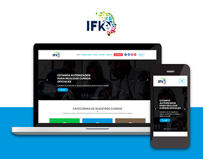 IFK Capacitación - Website