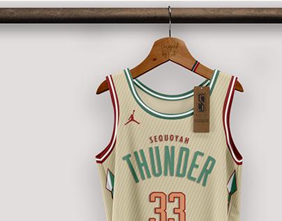 OKLAHOMA CITY THUNDER / NBA - concept by SOTO UD