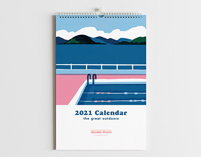 2020 and 2021 calendars of the great outdoors