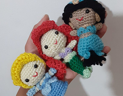 Amigurumi Disney Princesses Crochet