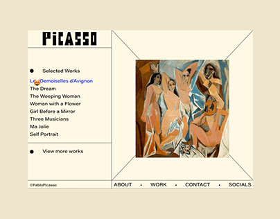 Brand Identities for Famous Artist Vol.1 Pablo Picasso