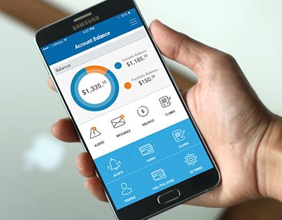 Health Insurance App Design