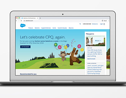 Salesforce Homepage Promotions