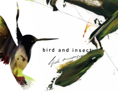 Bird and insect 4th anniversary visual