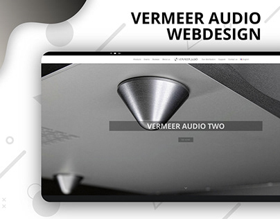 Webdesign - Vermeer Audio
