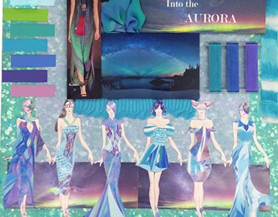 Into the Aurora Presentation Board
