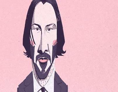Keanu Reeves Portraits