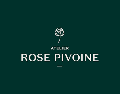 logo Atelier Rose Pivoine