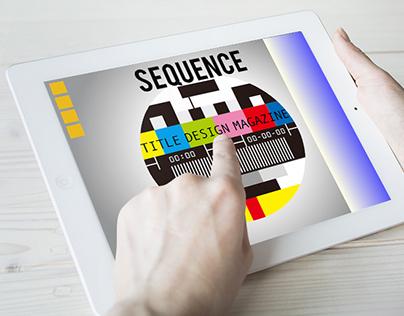 UX/UI/Branding/ Digital Magazine - Sequence Magazine